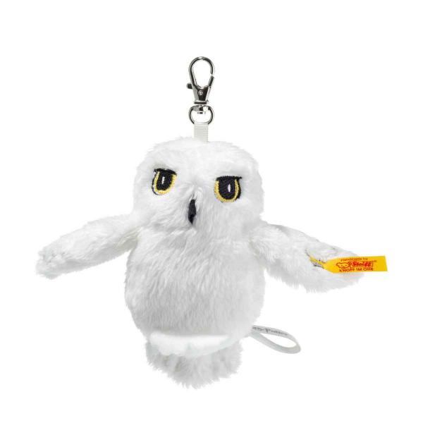 Hedwig Owl keyring/bag clip, Harry Potter. Steiff EAN 355103